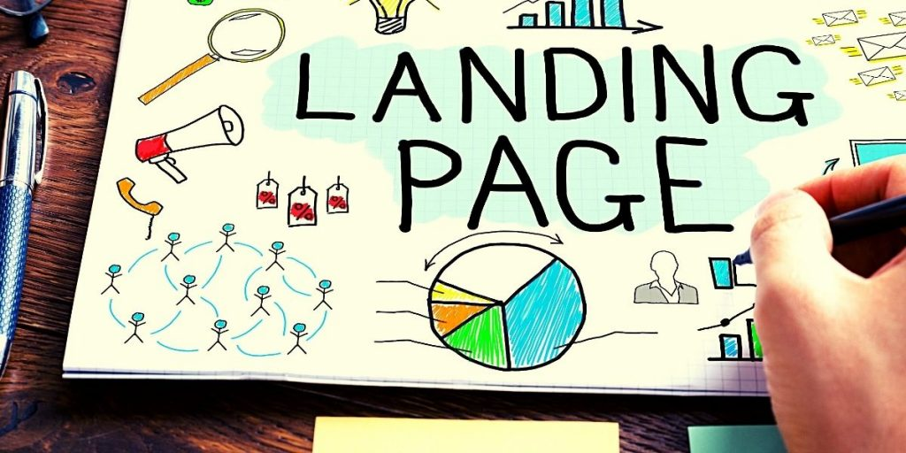 Landing Pages Graphical Image